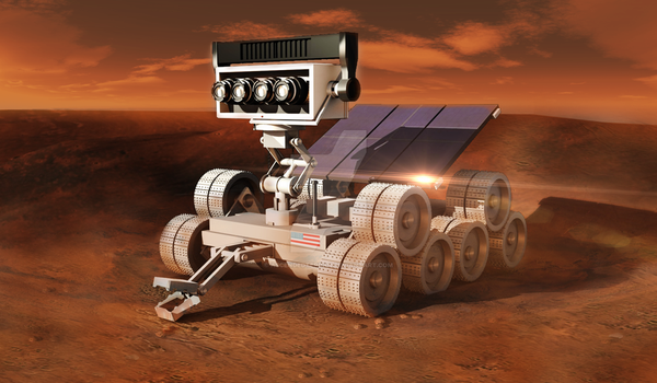 Mars Rover Concept by AscendedTerran