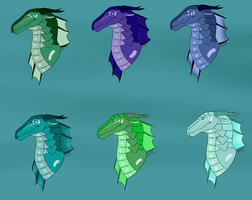 Seawing Adopts (2/6 OPEN *PRICES LOWERED*) by RogueArtist21