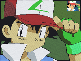 Minecraft - Ash Ketchum by luk01