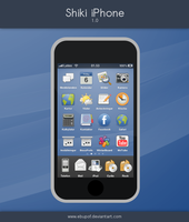 Shiki iPhone Theme 1.0 by hundone