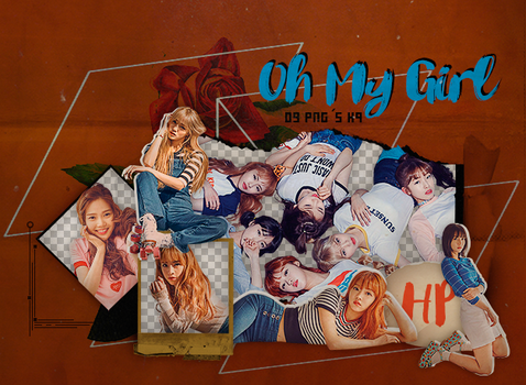 186|Oh My girl|Png pack|#01| by happinesspngs