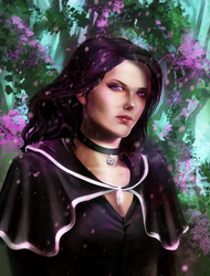 yennefer by Enzi-mercurius