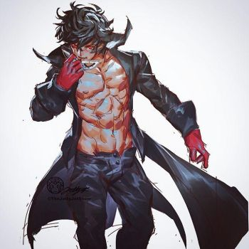 Joker Shirtless by THEJETTYJETSHOW