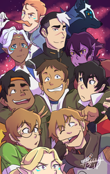 VOLTRON Group by aileenarip