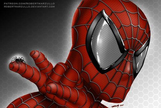 Spiderman by robertmarzullo