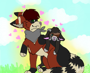 All About Us (Tilly and Akaru) by Rechuli
