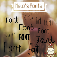 New's Fonts! :D by PastelitoLoco