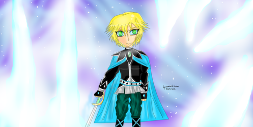 General Ryuma Ice King with background