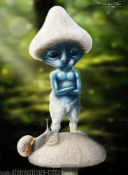 Realistic Smurf by AtomiccircuS