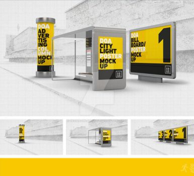 DOA Outdoor Mock Up Set by design-on-arrival