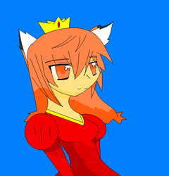 Queen Kitsune by ShadowFanGirl331