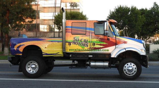 Truck by sacphotos