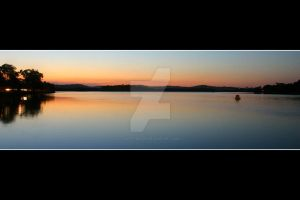 Maroochy River Sunset in Sept. by Keith-Killer