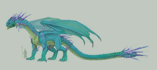 Our favorite scaly baby by Pipann