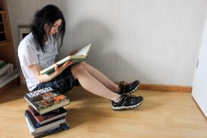 Bookworm 03 by Pagan-Stock