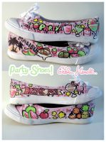 Party Shoes by PeterPan-Syndrome