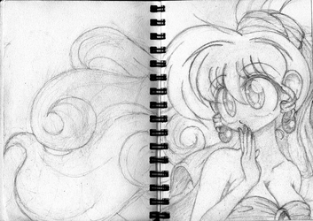 Too Small Sketchbook : A Much Better Bride 2 by BA4ever