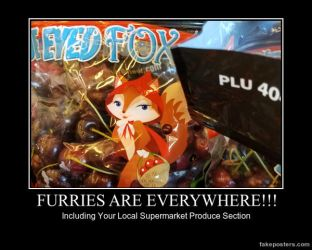 Furries Are Everywhere!!!! by DallasBlack