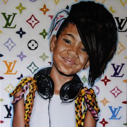 willow smith painting by SaraSam89