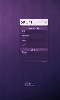 Violet by dreamxis