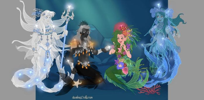 DollLoverz May Contest Four Parts Of Earth by Taiya001