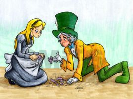 Alice and Hatter: It's Broken by Smitkins