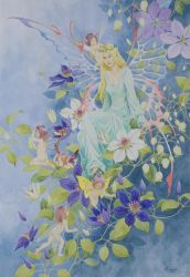 fairy-clematis by ilxwing