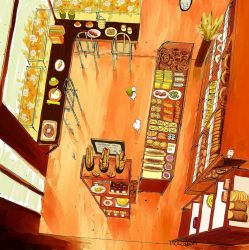 little bakery by moccabun