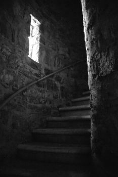 Stone Tower's Stairs 2 by dseomn