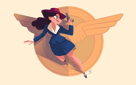 Agent Carter by NickSwift