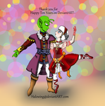 Ten Years on DA! CherryXDende: Nutcracker by Halowing