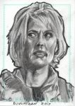 Stargate SG1 Sam Carter Sketch Card 4 by JonDjulvezan