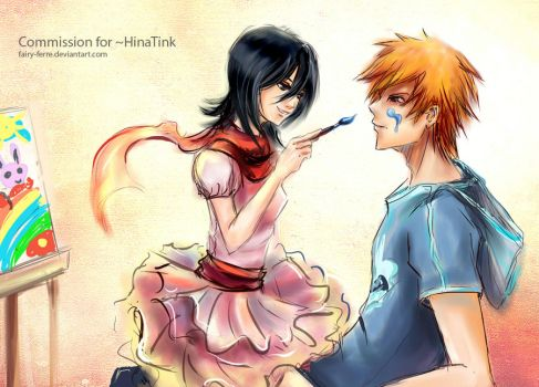Com: IchiRuki Drawing Time by fairy-ferre