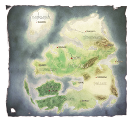 Aether World Map by Dea-89