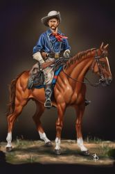 US Cavalry, 1876 by sandu61