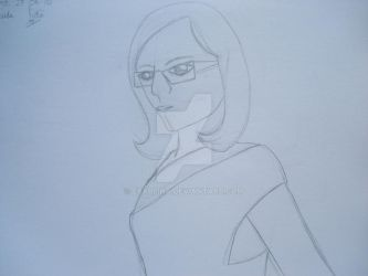 failed potrait of myself by exarlina
