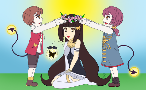 contest:-Maddy And The Twins by SweetOrangem3m