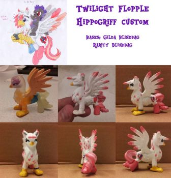 Twilight Flopple Custom Toy by colley