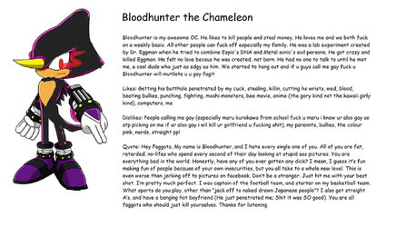 BLOODHUNTER TH CHAMELEAN by cringemaster9000