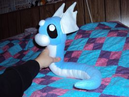 Dratini Plush by mysteriousmage