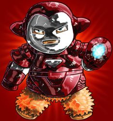 The invincible Iron Fluff by DAVIDE76