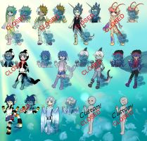 Sea life Adopts (1/12 Open) by Basset-Adopts