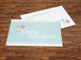 Seamstress Business Card by ClementineCreative