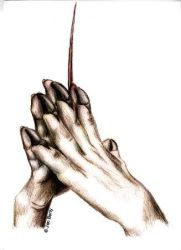 The hands of an araknidash by nunt