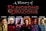 A History of D and D - Star Trek by Sailmaster-Seion