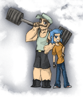 Otto and Sophie - Random Things for Random Beings by MSPToons