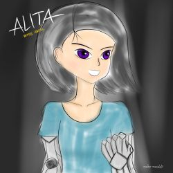 ALITA BATTLE ANGEL by maxalate