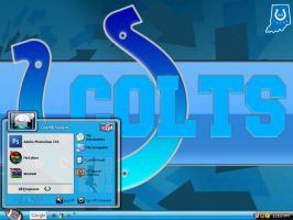 INDIANAPOLIS COLTS THEME by graffitimaster