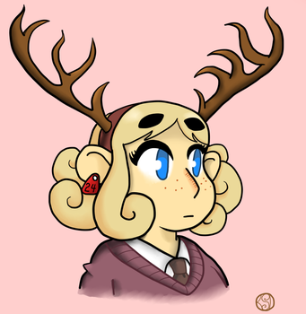 The Girl from the Deer Farm by GoSkyKid