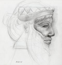 Head Study Nineveh by Joshua-Mozes